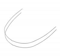 Black-Ti Super Elastic Nitanium Archwires